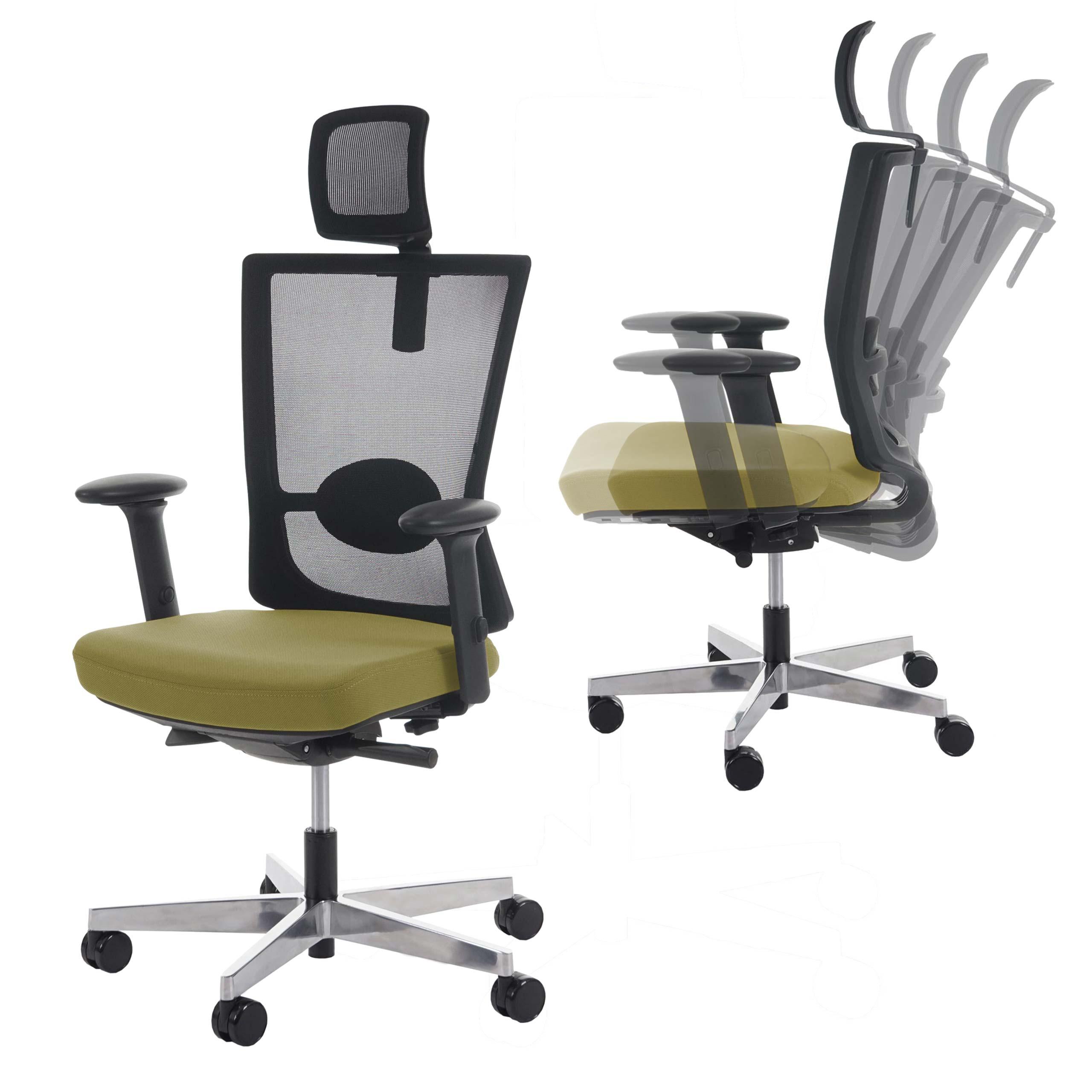 Ergonomischer bürostuhl weiß  Bürostuhl MERRYFAIR Adelaide, Schreibtischstuhl Drehstuhl, Polster ...