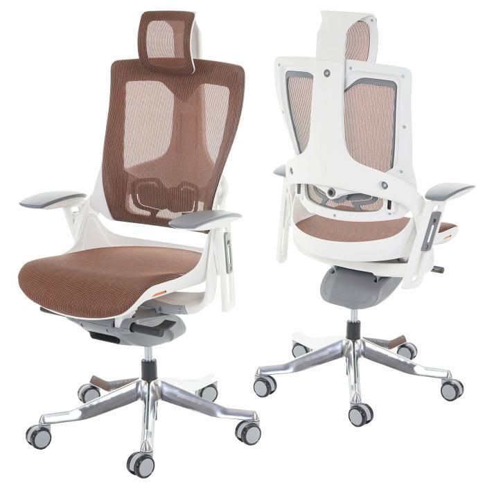 Drehstuhl ergonomisch  MERRYFAIR Wau 2, Schreibtischstuhl Drehstuhl, Polster/Netz ...