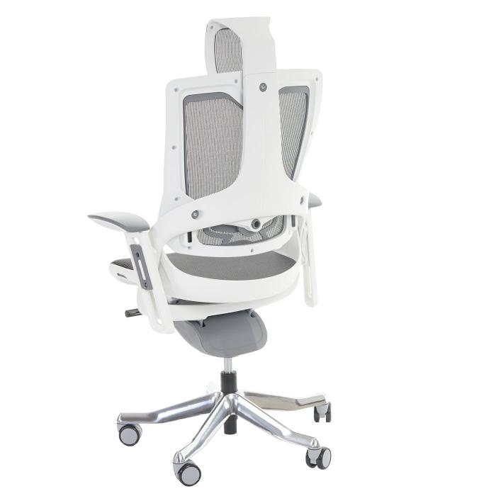 Bürostuhl schwarz Drehstuhl MERRYFAIR  ergonomisch Netz Wippmechanik Kopfstütze