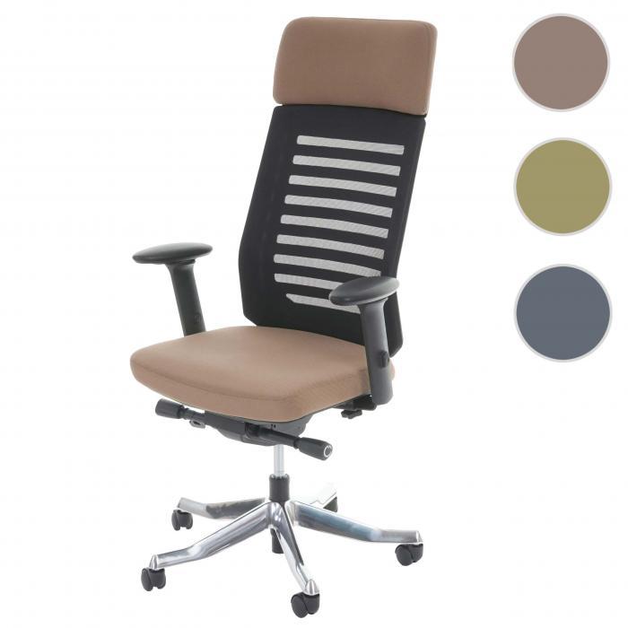 Bürostuhl ergonomisch  MERRYFAIR Velo, Schreibtischstuhl mit Kopfstütze, Sliding-Funktion ...