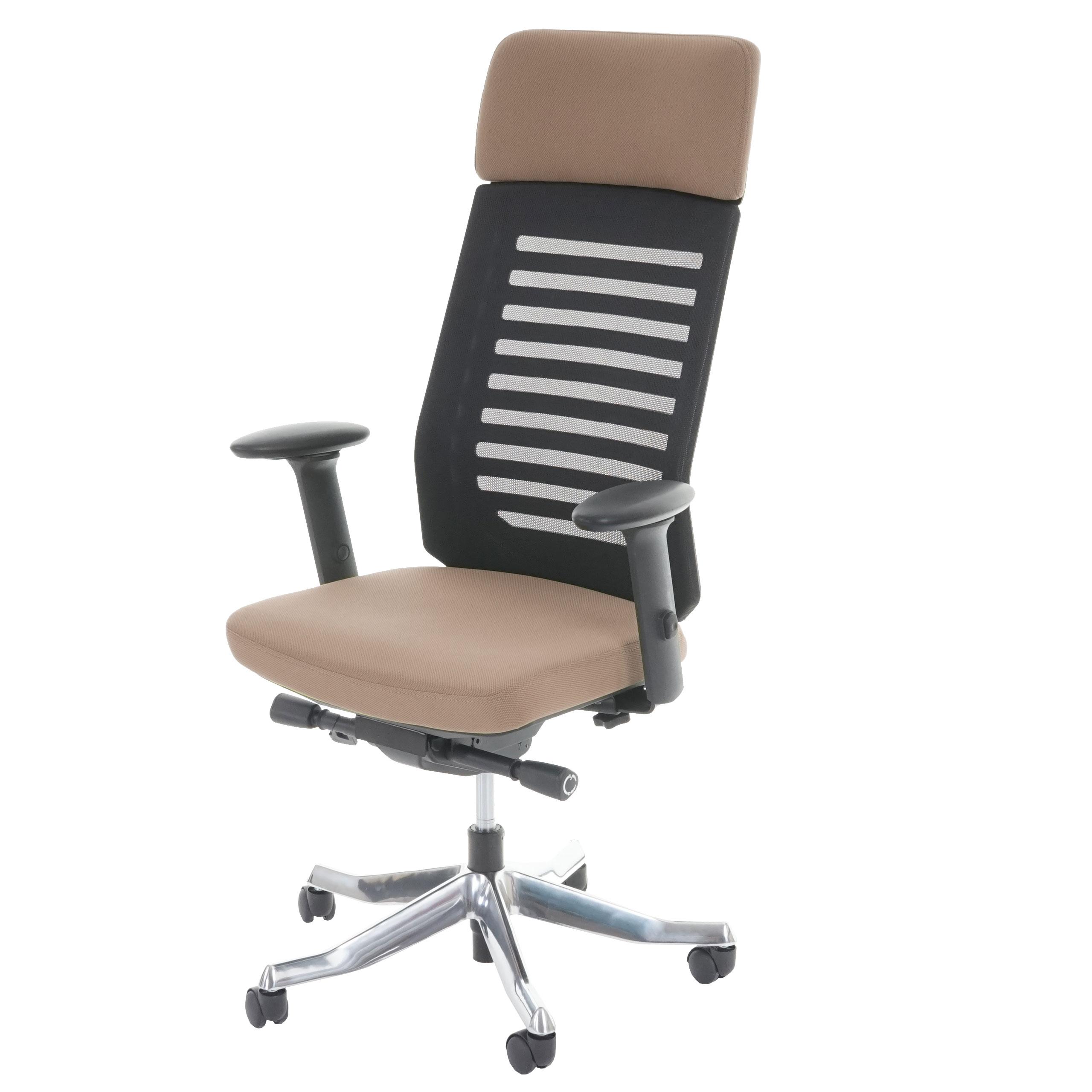 Bürostuhl ergonomisch holz  MERRYFAIR Velo, Schreibtischstuhl mit Kopfstütze, Sliding-Funktion ...
