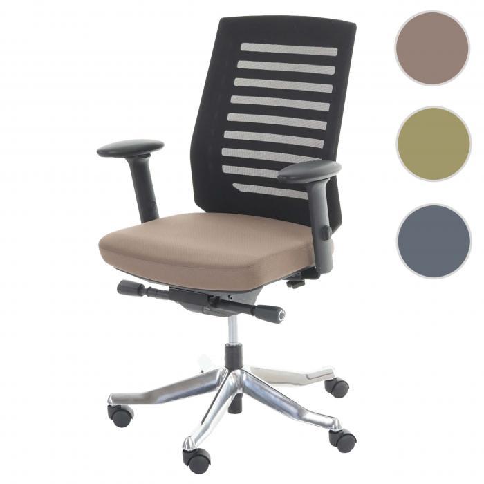 Schreibtischstuhl ergonomisch  MERRYFAIR Velo, Schreibtischstuhl, Polster/Netz, Sliding-Funktion ...