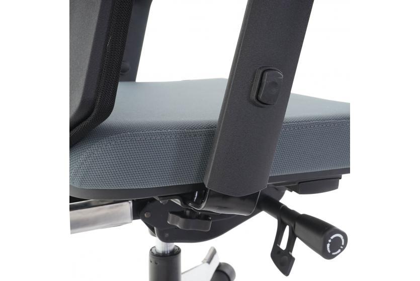 Schreibtischstuhl modern grau  Bürostuhl MERRYFAIR Velo, Schreibtischstuhl mit Kopfstütze ...