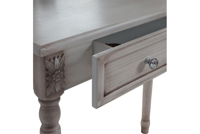 schminktisch valence h434 frisiertisch mit hocker barock antik antik wei ebay. Black Bedroom Furniture Sets. Home Design Ideas