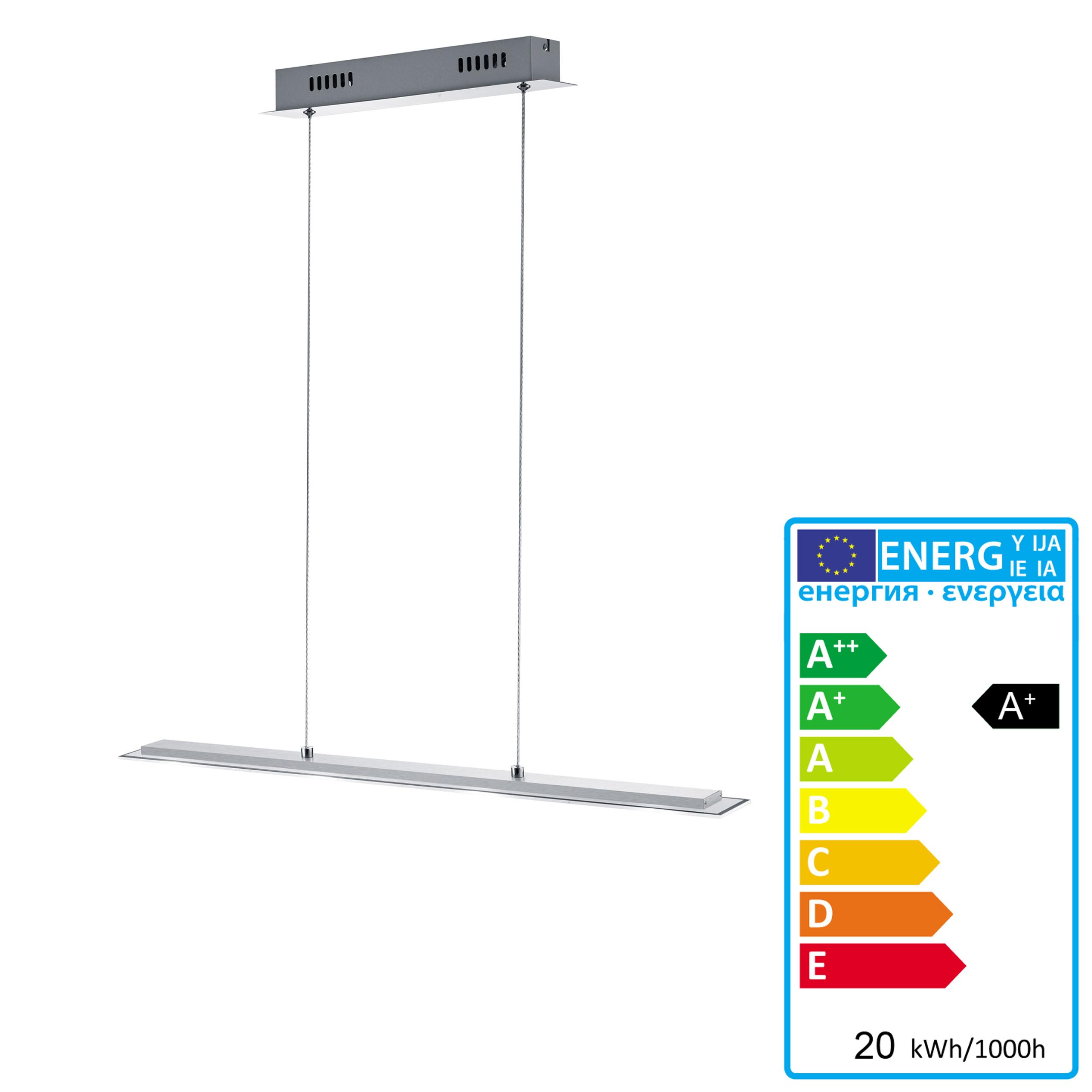 lampada a sospensione reality trio led alluminio 75cm p ebay. Black Bedroom Furniture Sets. Home Design Ideas