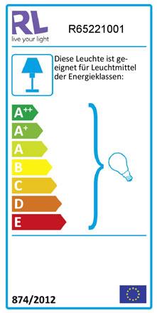 Label Deckenleuchte RL119
