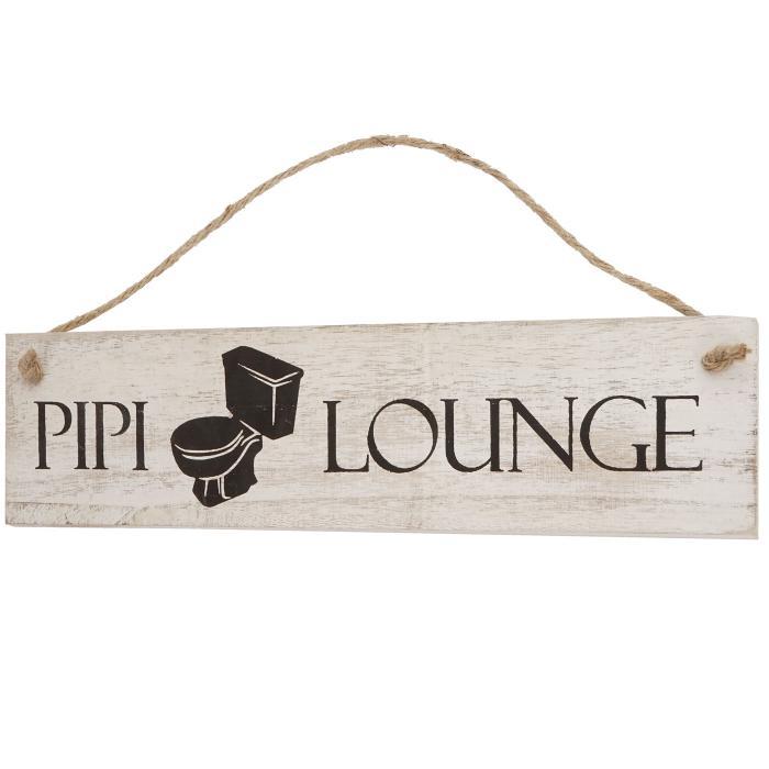Holzschild Dekoschild Weihnachten Im Shabby Chic Von: Wandschild Pipi-Lounge, Dekoschild Holzschild, Shabby-Look