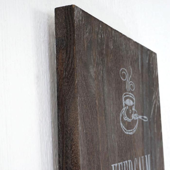 Dekoschild Holzschild Wandschild Dance Shabby-Look Vintage 60x60cm