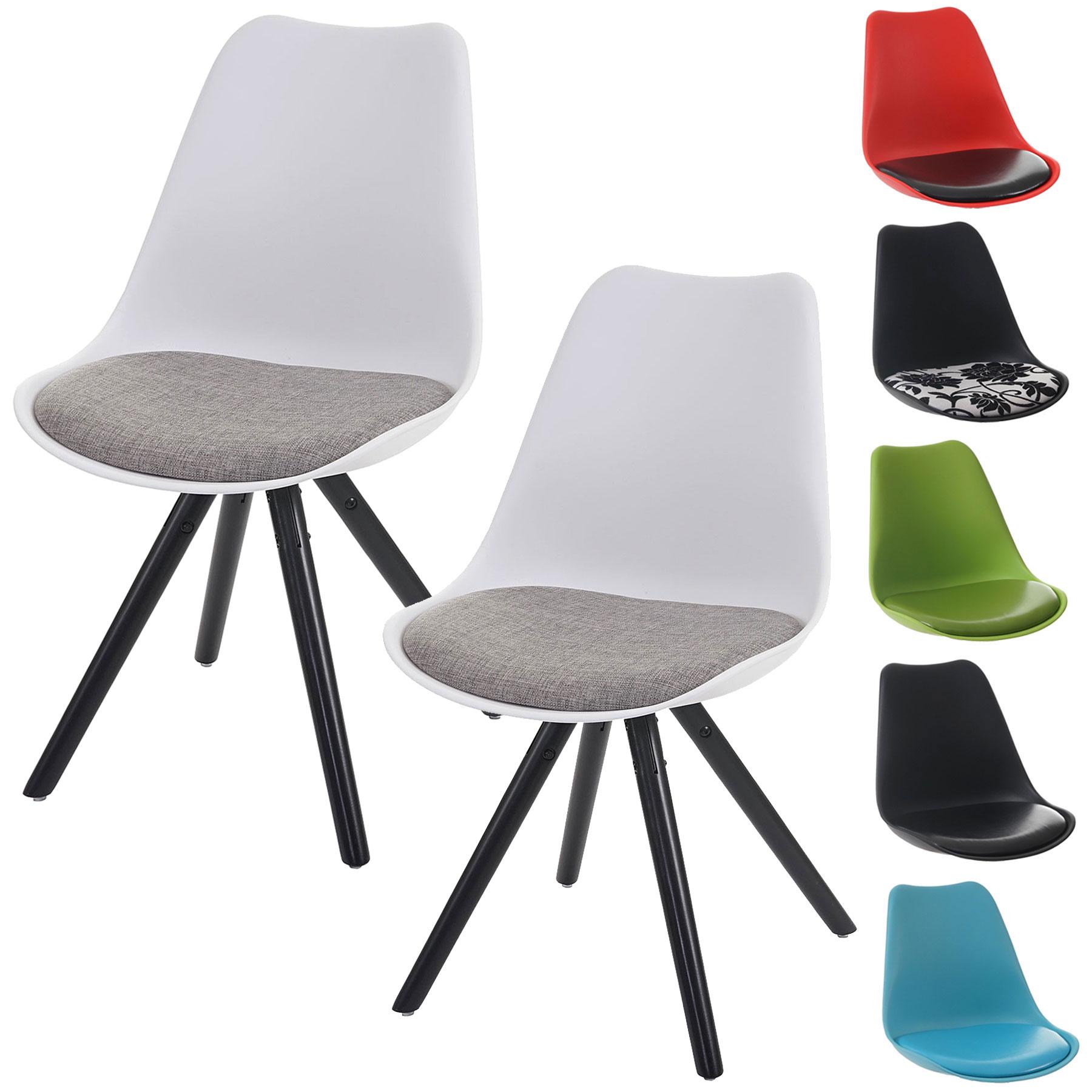 Serie Malmoe set 4x sedie sala da pranzo T501 legno massiccio   eBay