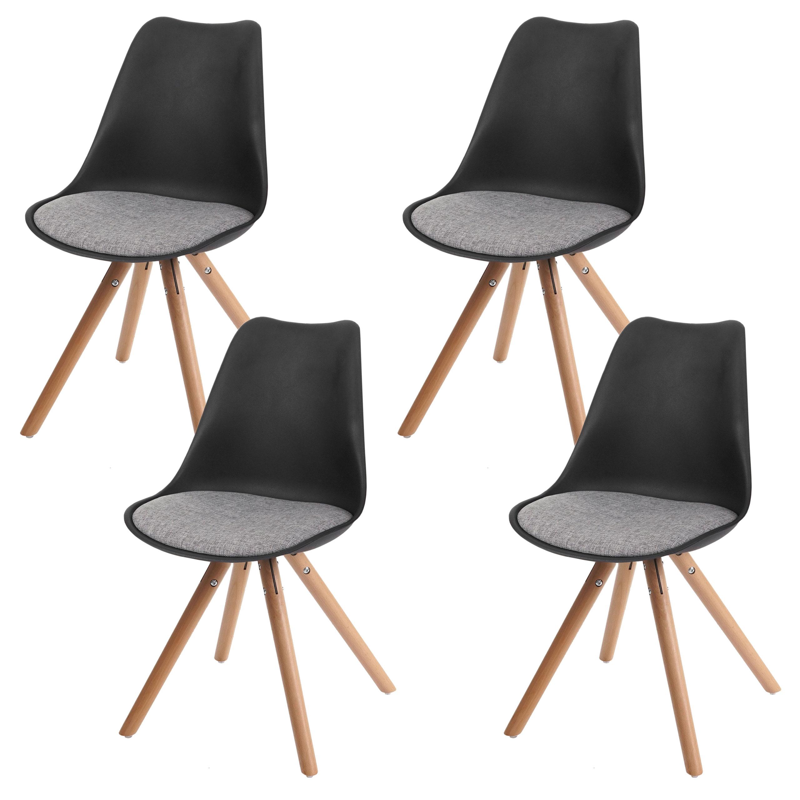Bezaubernd Esszimmerstühle Türkis Galerie Von 4x Esszimmerstuhl Malmö T501, Retro Design ~