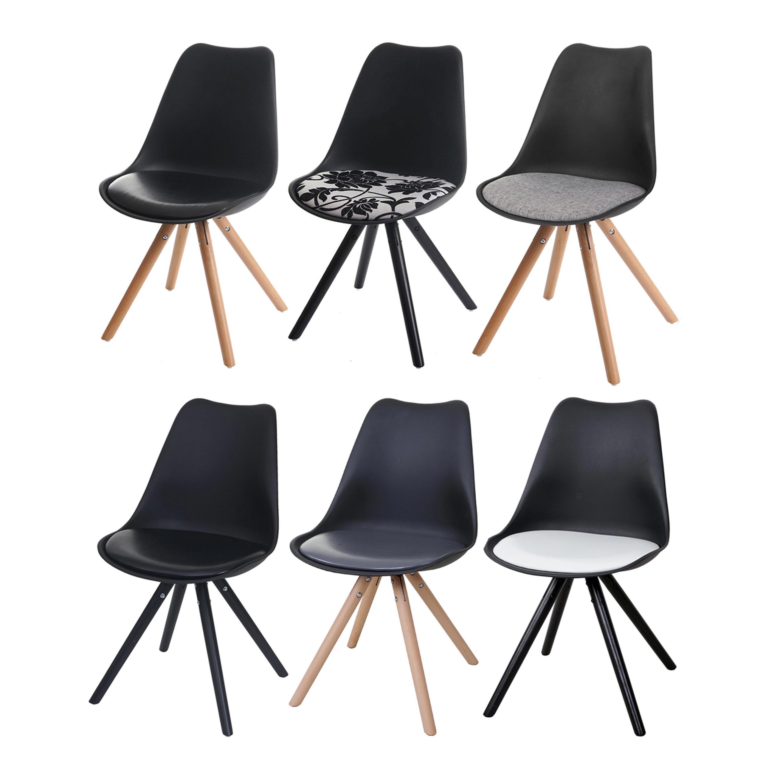 Malmö Stuhl 6x esszimmerstuhl malmö t501, stuhl lehnstuhl, retro 50er jahre design