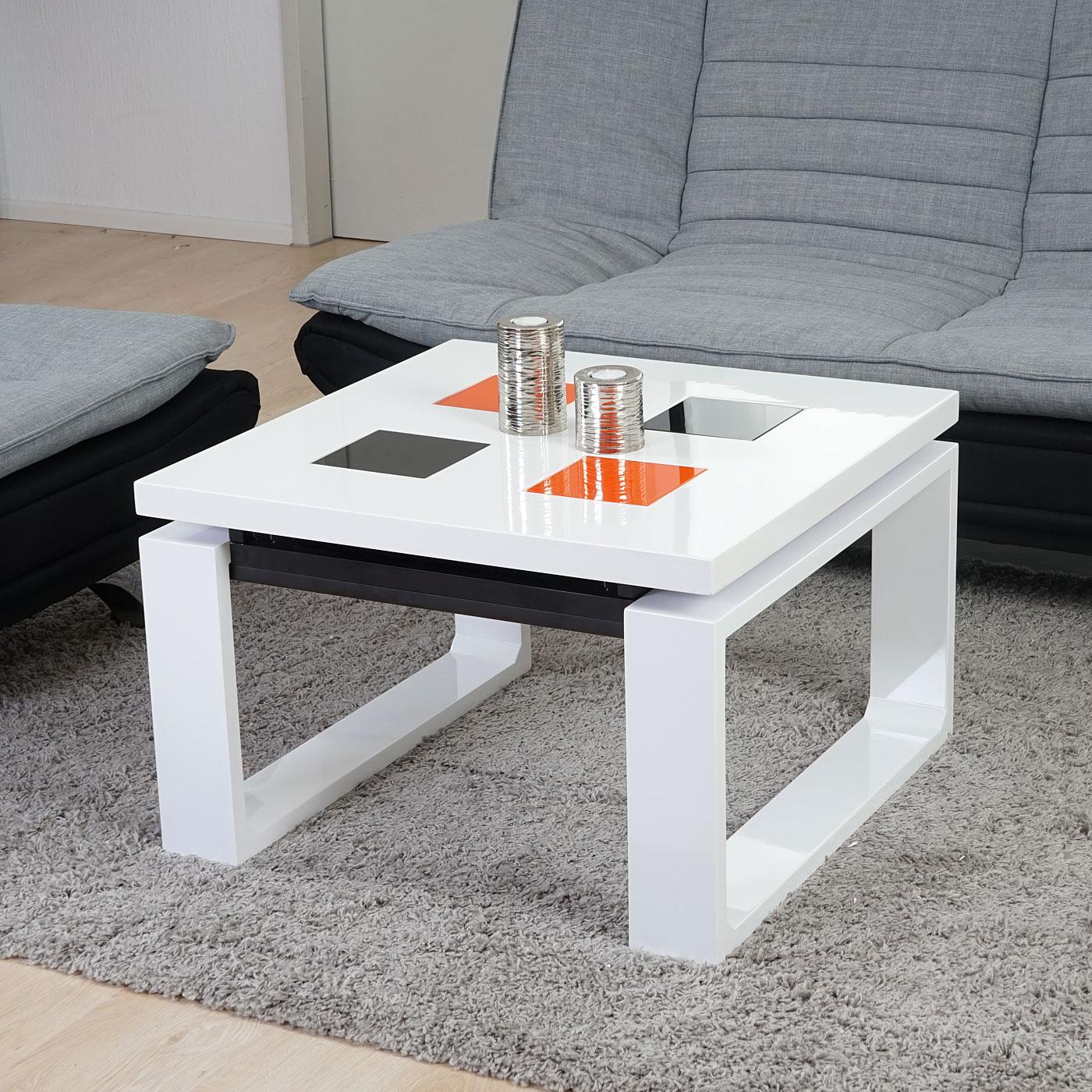 Couchtisch Vaslui, Wohnzimmertisch Tisch, hochglanz