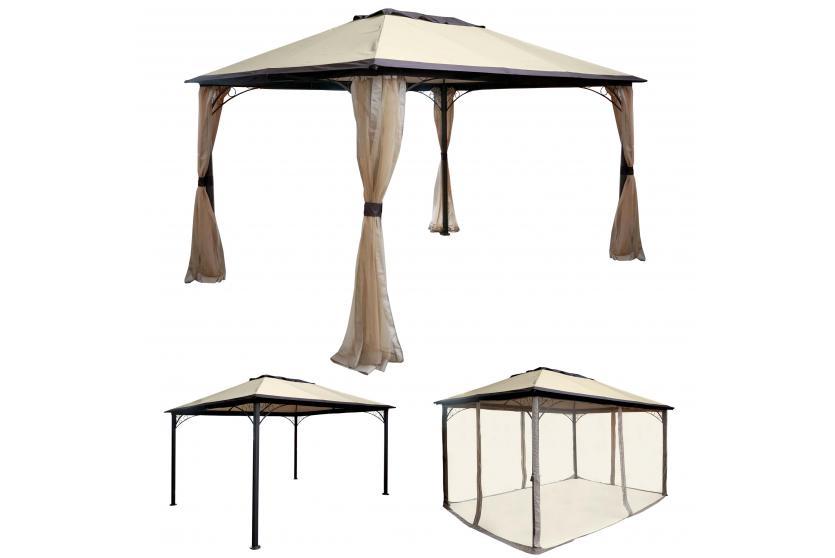 Pavillon Xm Style : Sonnensegel mit gestell. perfect pergola garten pavillon stabiles