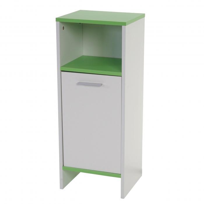 badezimmer set arezzo waschbeckenunterschrank hochschrank kommode wei b den gr n. Black Bedroom Furniture Sets. Home Design Ideas