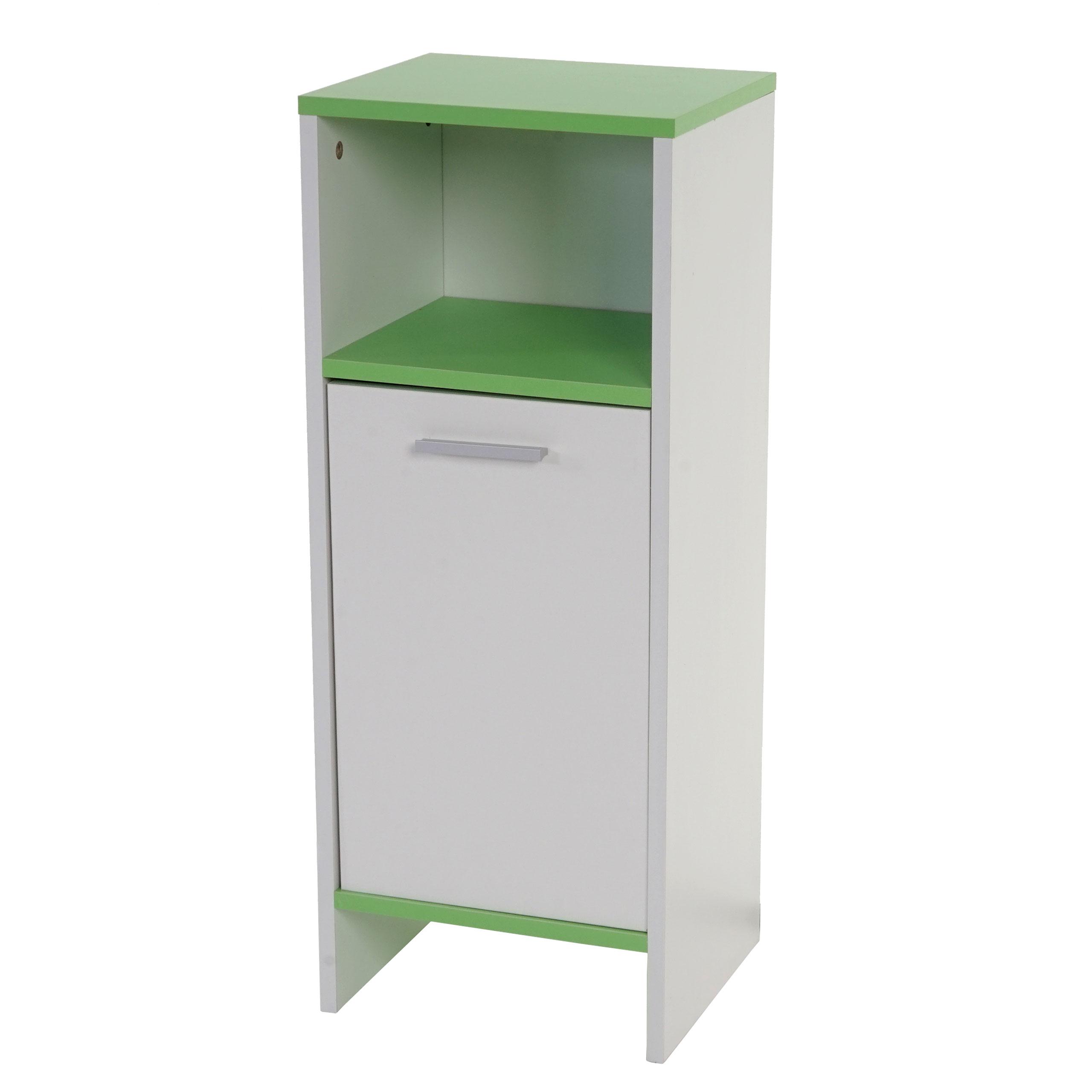 Badezimmer Set Arezzo, 2x Waschbeckenunterschrank Hochschrank ...