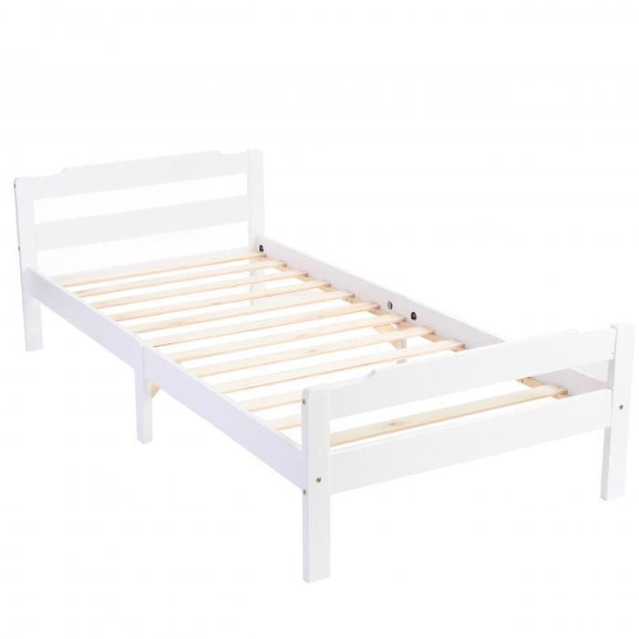 einzelbett mit lattenrost