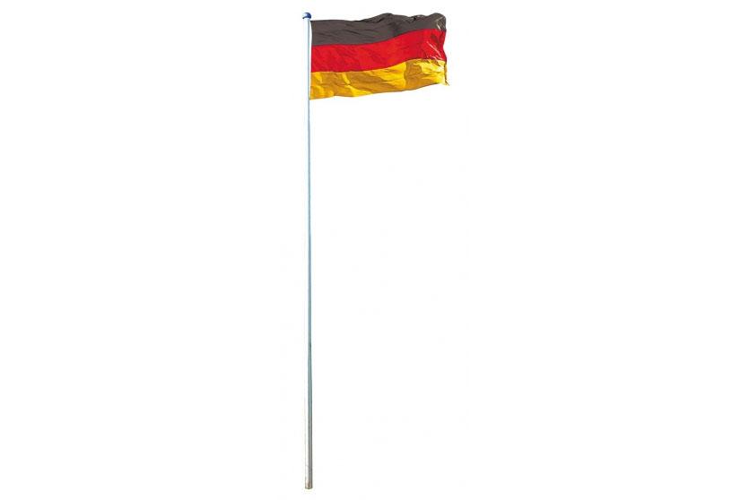 fahnenmast inkl deutschlandfahne mast flagge