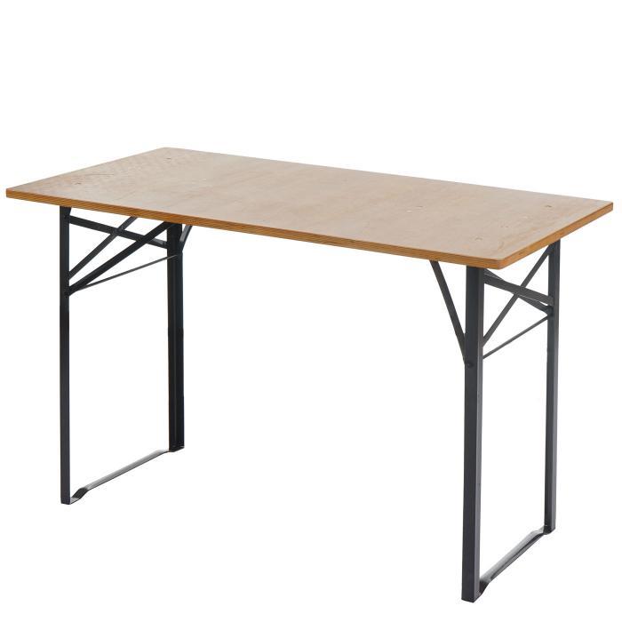 tisch lustenau festzelttisch biertisch klappbar 115cm. Black Bedroom Furniture Sets. Home Design Ideas