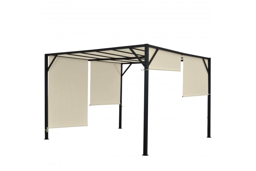 pergola baia garten pavillon 6cm stahl gestell. Black Bedroom Furniture Sets. Home Design Ideas