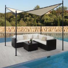 absperrgitter hwc b34 scherengitter rankhilfe tierschutzgitter ausziehbar alu braun 27 207cm. Black Bedroom Furniture Sets. Home Design Ideas