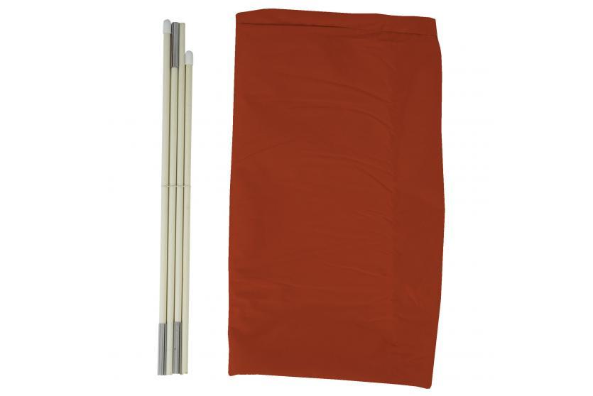 schutzh lle meran f r marktschirm bis 5m abdeckh lle cover mit rei verschluss terrakotta. Black Bedroom Furniture Sets. Home Design Ideas