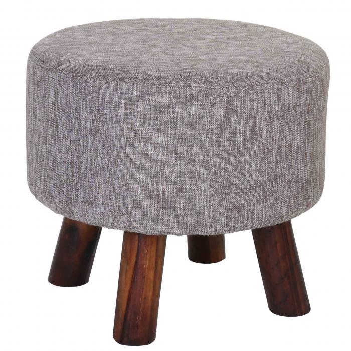sitzhocker bondy ottomane hocker fu hocker 42cm rund. Black Bedroom Furniture Sets. Home Design Ideas