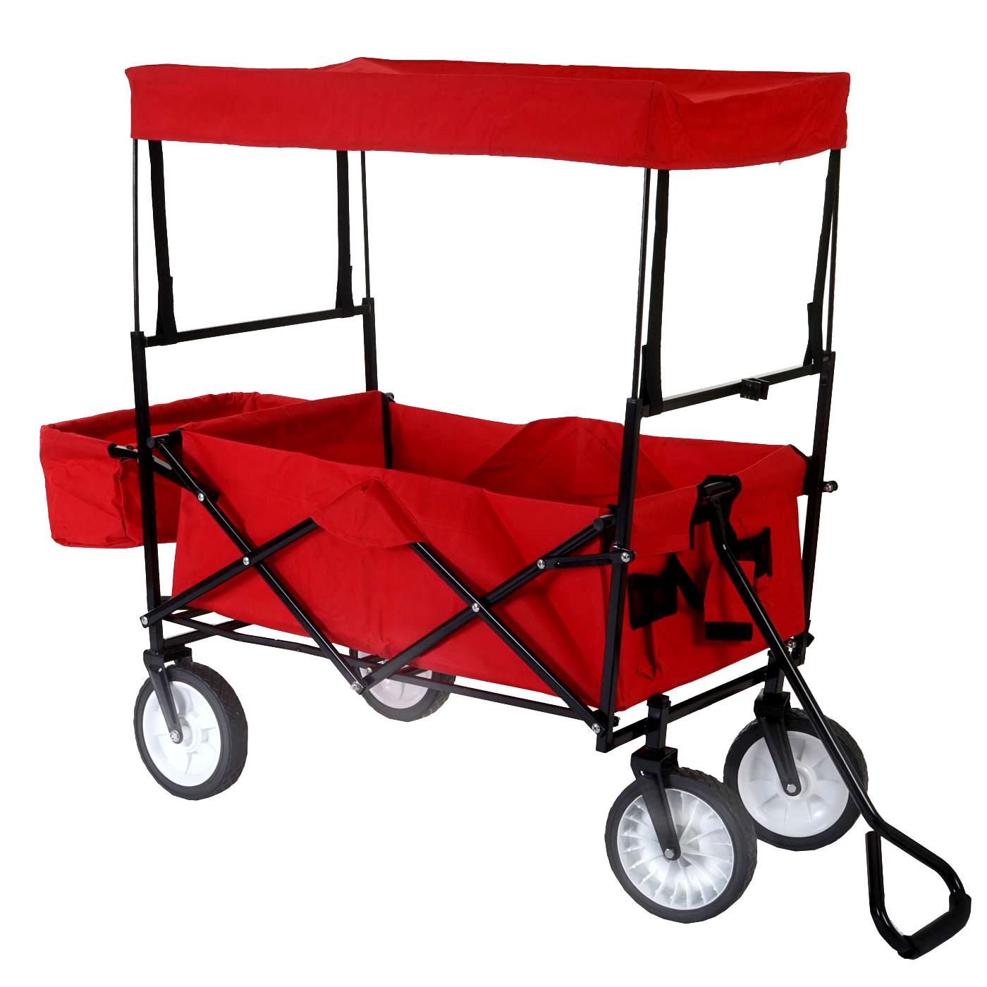 faltbarer bollerwagen morley handwagen transportwagen. Black Bedroom Furniture Sets. Home Design Ideas