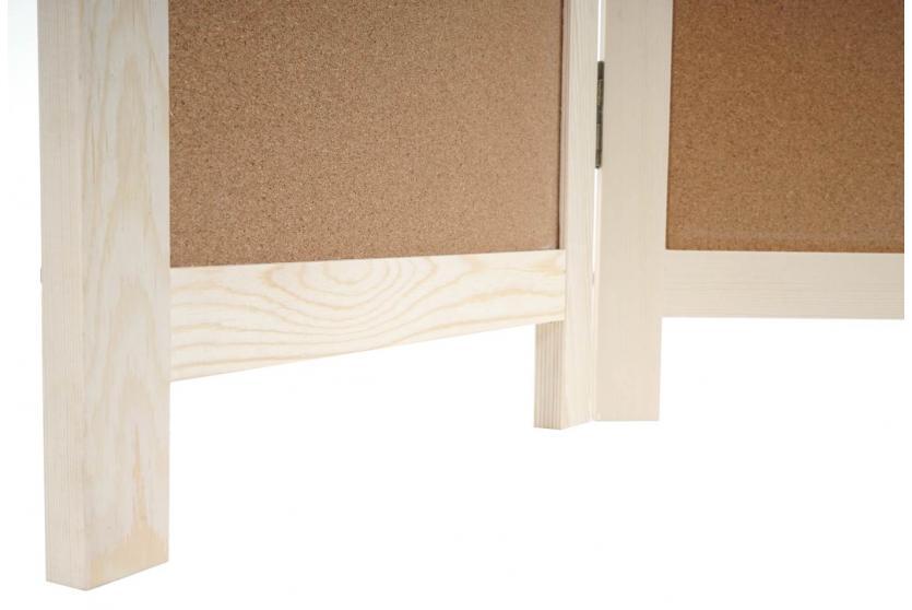 paravent kork raumteiler trennwand sichtschutz. Black Bedroom Furniture Sets. Home Design Ideas