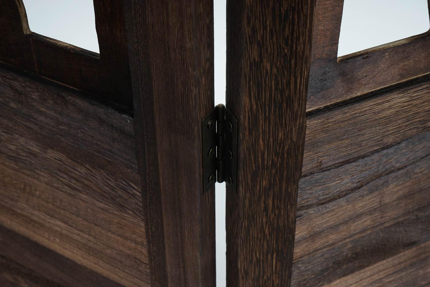 paravent istanbul raumteiler trennwand sichtschutz ornamente 170x160cm braun. Black Bedroom Furniture Sets. Home Design Ideas