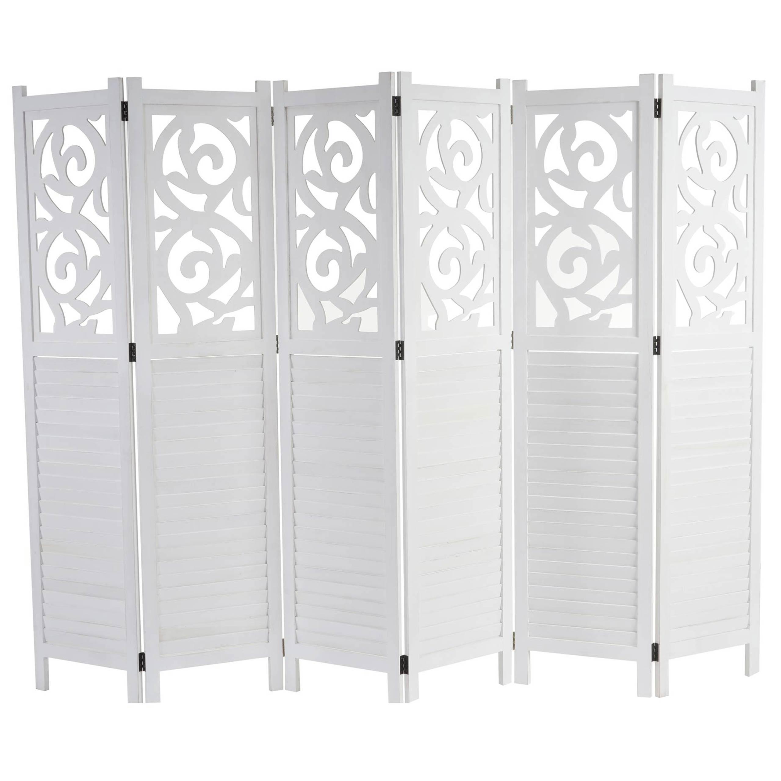 Istanbul Raumteiler Trennwand Sichtschutz Ornamente 170x240cm