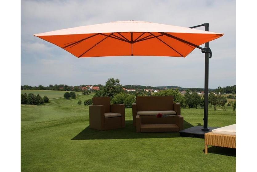 sonnenschirm gastronomie 4 m anndora sonnenschirm marktschirm gastronomie 4 x 4 m winddach. Black Bedroom Furniture Sets. Home Design Ideas