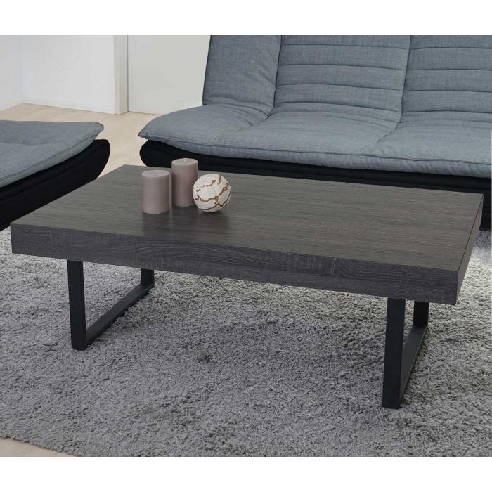 b ware lack bl ttert ab couchtisch 40x110x60cm fsc zertifiziert schwarze eiche optik. Black Bedroom Furniture Sets. Home Design Ideas