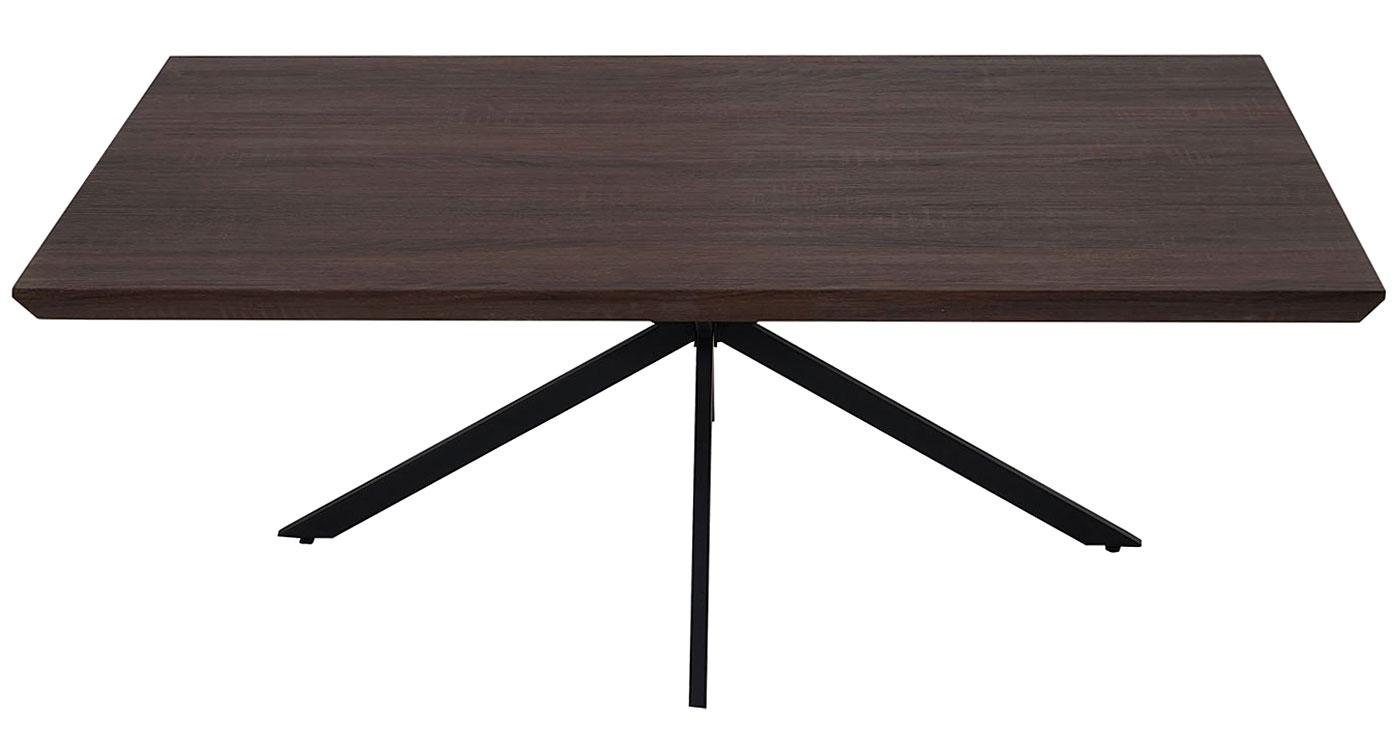 couchtisch genk h577 fsc braune eiche dunkle metall f e. Black Bedroom Furniture Sets. Home Design Ideas