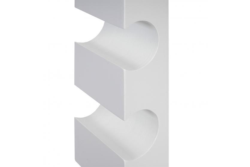 weinregal colmar flaschenregal wandregal holz flaschenhalter f r 3 flaschen 54x13x9cm wei. Black Bedroom Furniture Sets. Home Design Ideas