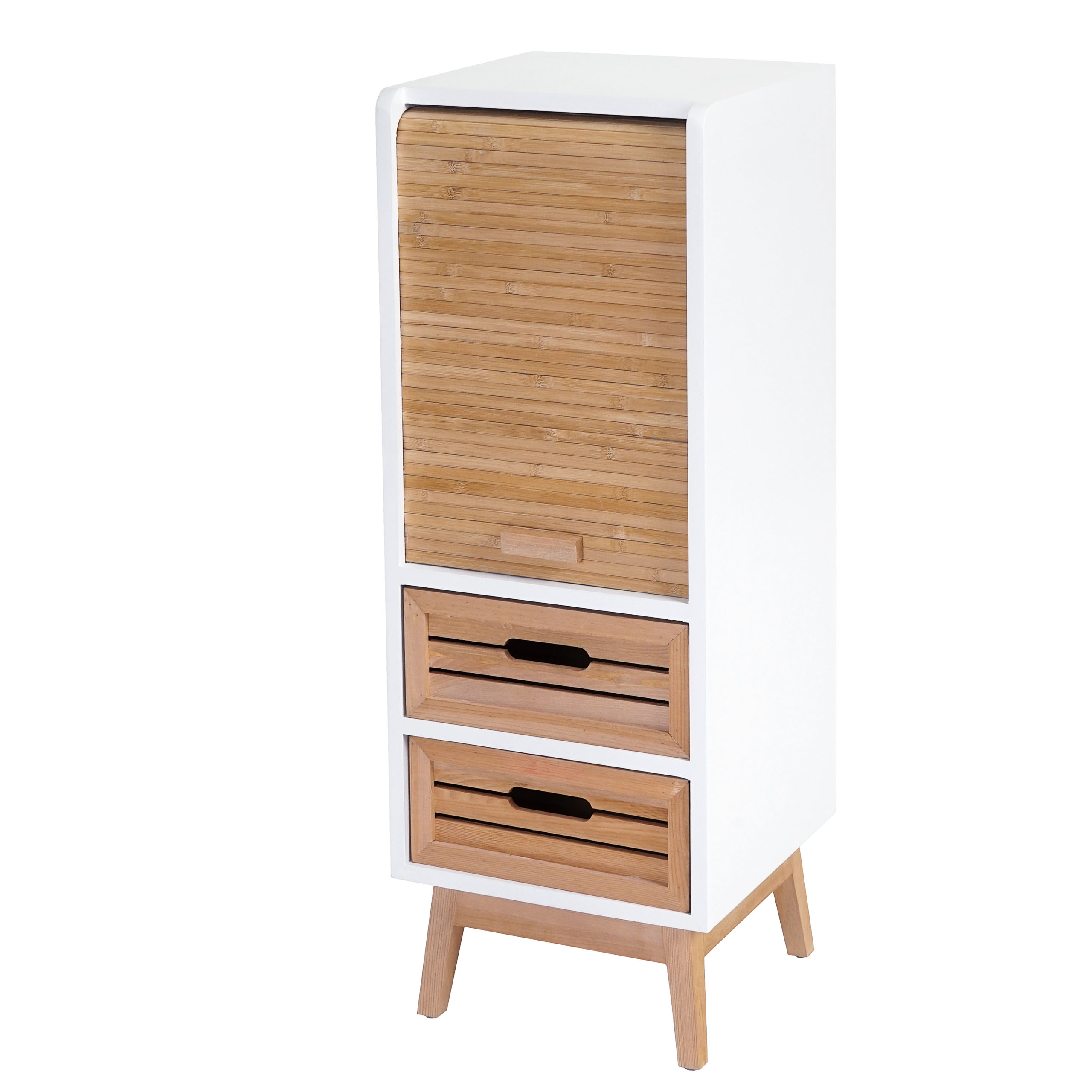 kommode larvik rollladen schubladenschrank retro design ebay. Black Bedroom Furniture Sets. Home Design Ideas