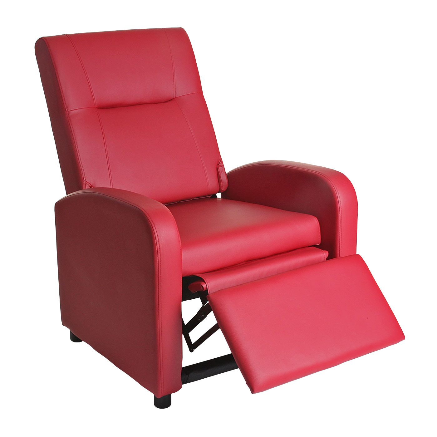 Fernsehsessel denver basic relaxsessel relaxliege sessel for Sessel in rot