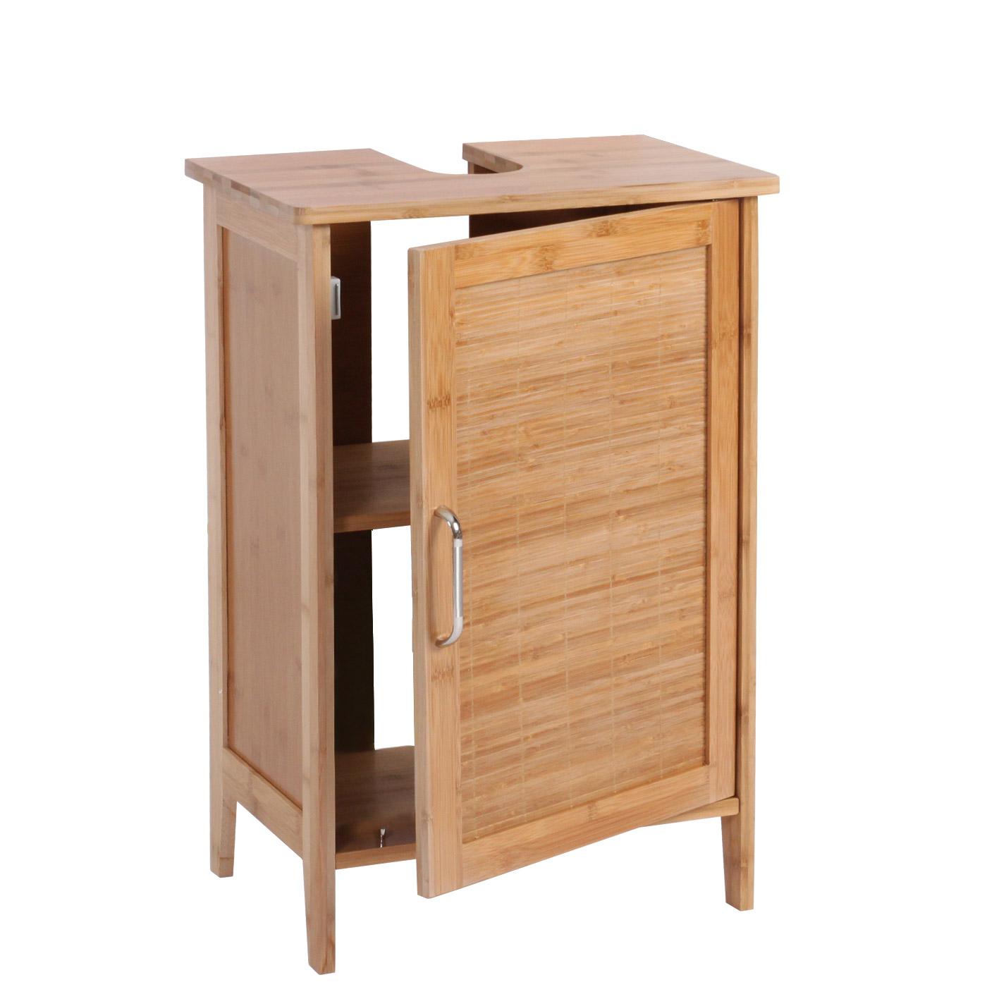 Serie legno bambu narita arredo bagno armadietto - Armadietto bagno ...