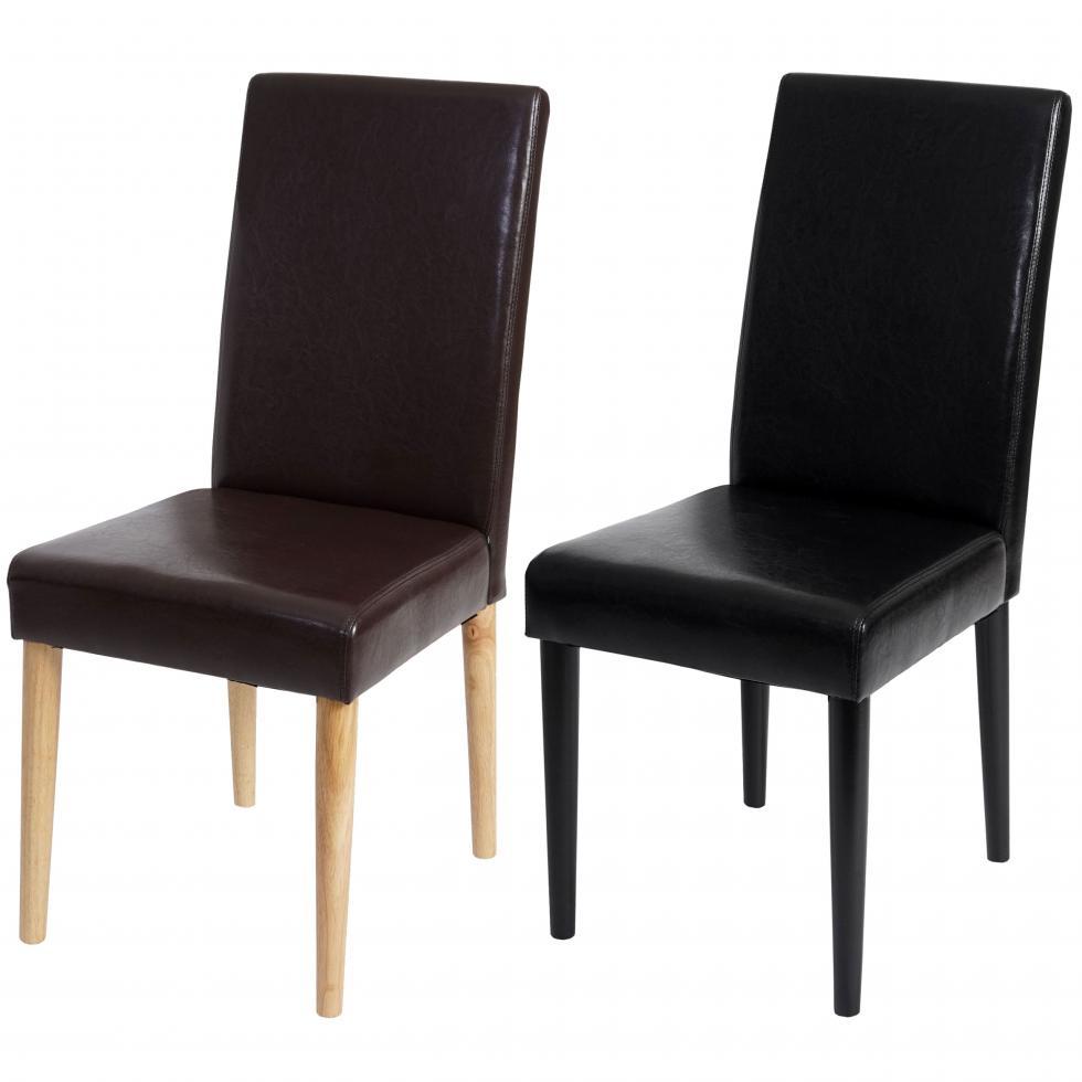 2x esszimmerstuhl leslau stuhl lehnstuhl kunstleder runde f e ebay. Black Bedroom Furniture Sets. Home Design Ideas