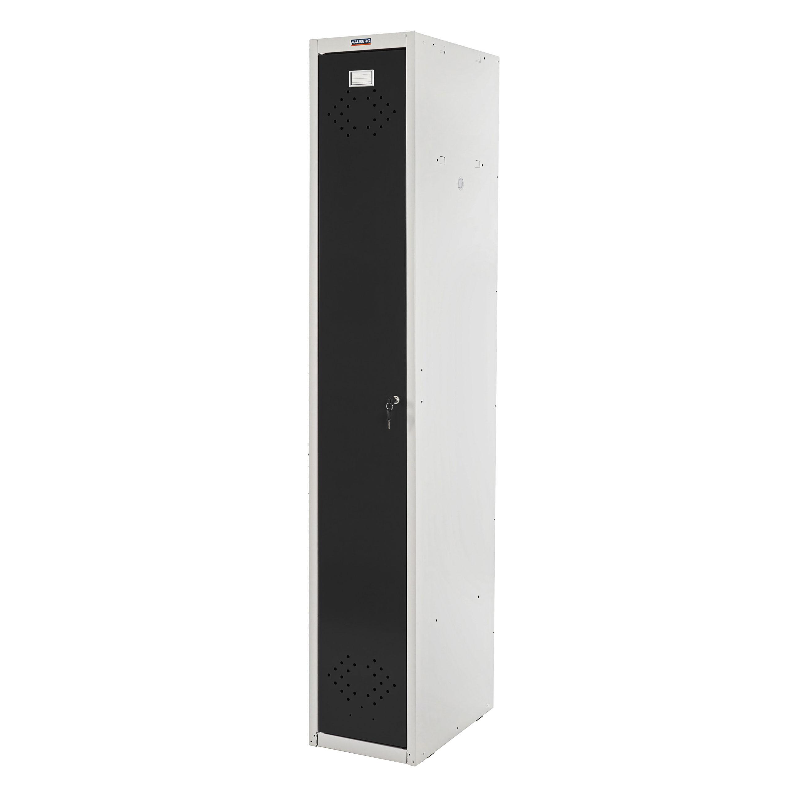 spind valberg t334 kleiderspind personalschrank 183x30x50cm nach asr ebay. Black Bedroom Furniture Sets. Home Design Ideas