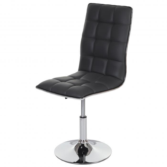 6x esszimmerstuhl hwc c41 stuhl lehnstuhl kunstleder grau for Kunstleder stuhl grau