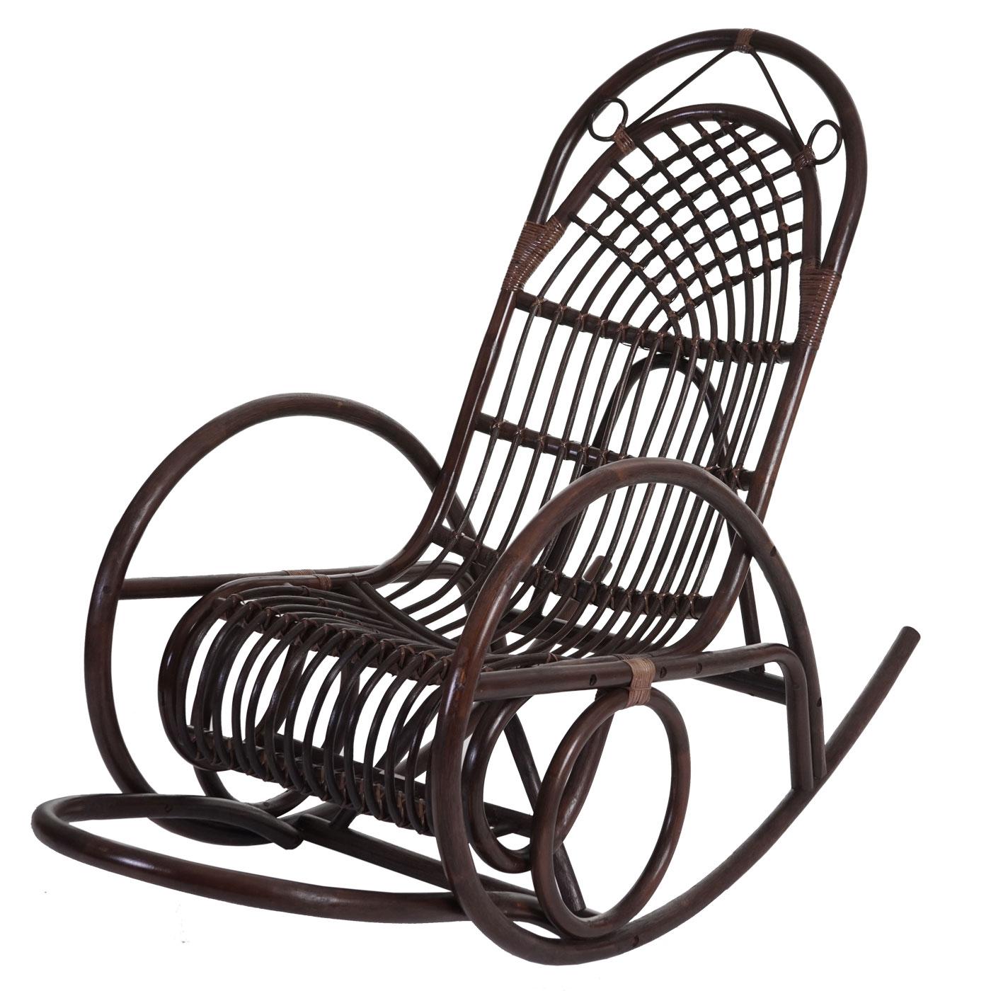 Sedia a dondolo hwc c40 139x58x110cm legno poliestere for Cuscino x sedia a dondolo