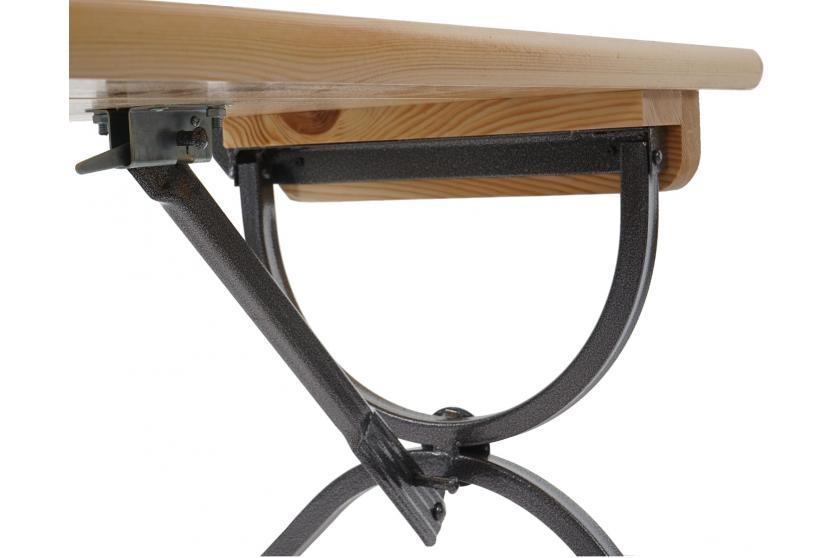 2x bank linz mit lehne f r biertischgarnitur festzeltgarnitur lackiert 150 cm. Black Bedroom Furniture Sets. Home Design Ideas
