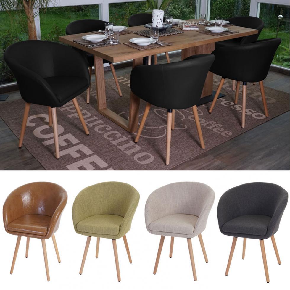 6x esszimmerstuhl malm t633 stuhl lehnstuhl retro 50er jahre design ebay. Black Bedroom Furniture Sets. Home Design Ideas