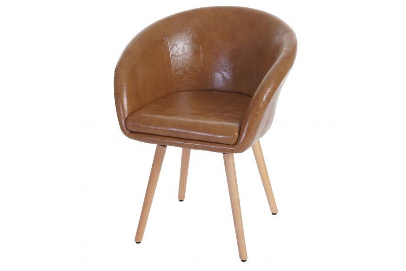 esszimmerstuhl malm t633 stuhl lehnstuhl retro 50er jahre design kunstleder wildlederimitat. Black Bedroom Furniture Sets. Home Design Ideas
