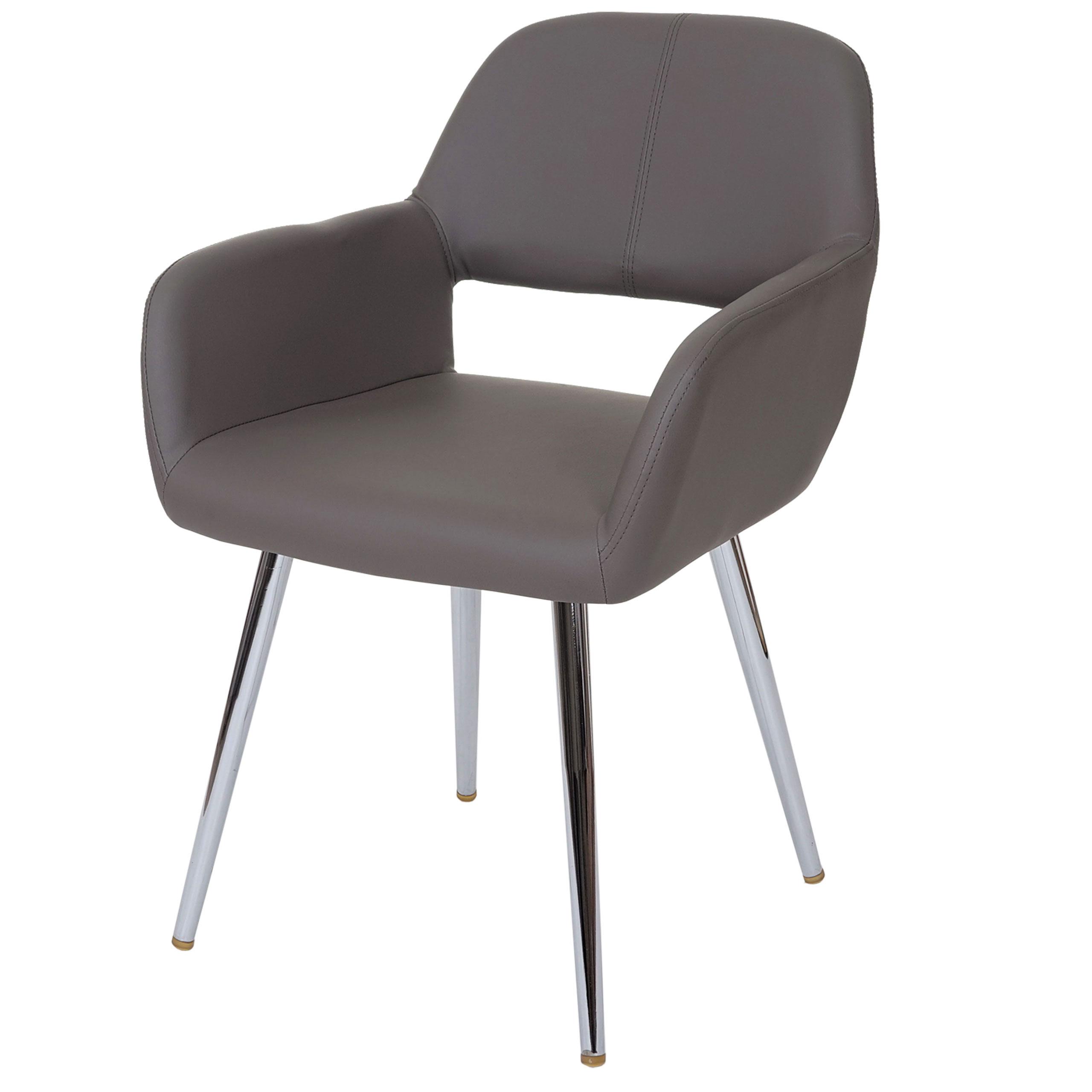 Sedia lounge hwc a50 design moderno ecopelle sala pranzo for Sedia design pranzo