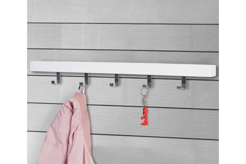 Wandgarderobe almelo garderobenleiste garderobe for Einfache garderobenleiste