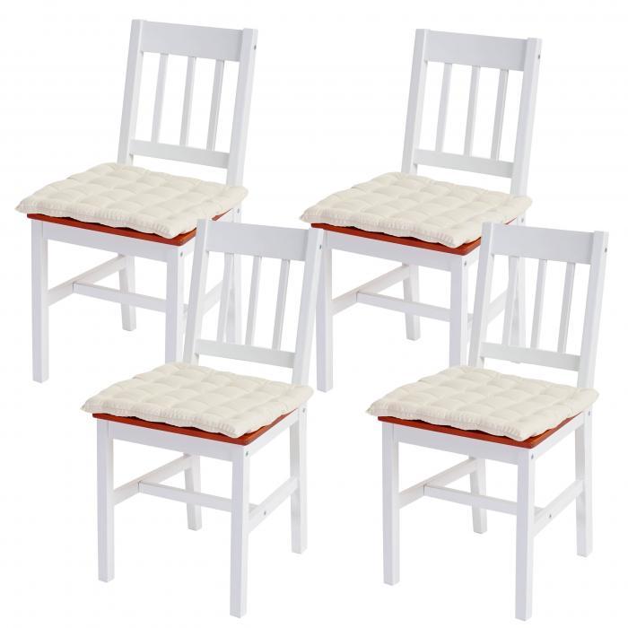 Holzstühle Weiß esszimmerstuhl harstad holzstuhl lehnstuhl kiefer weiß braun mit