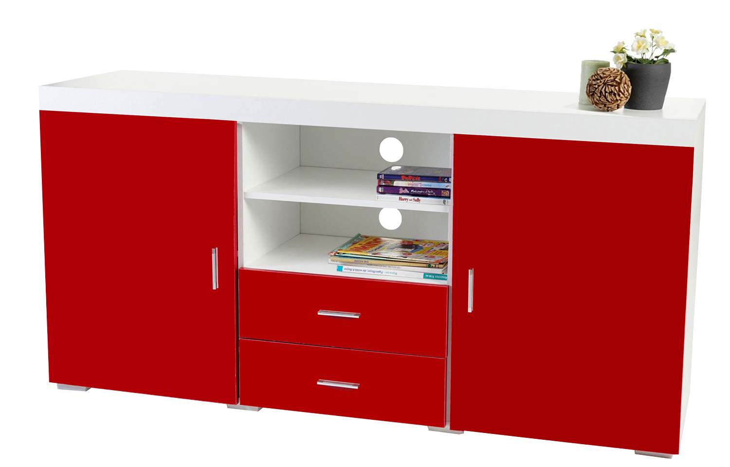 sideboard hochglanz rot latest garderoben set detroit hochglanz wei rot b x with sideboard. Black Bedroom Furniture Sets. Home Design Ideas