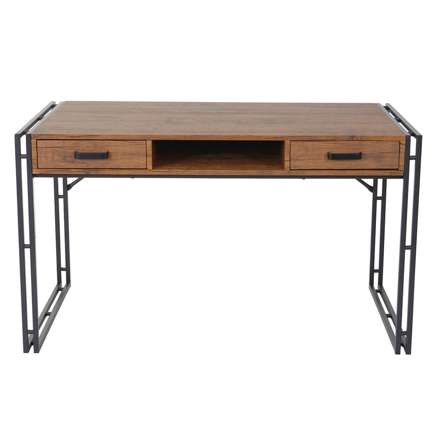 schreibtisch dohna b rotisch 120x70cm 3d struktur wildeiche ebay. Black Bedroom Furniture Sets. Home Design Ideas