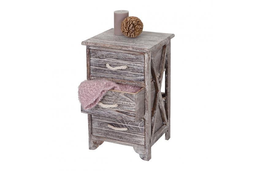 kommode lulea schubladenkommode schrank shabby look. Black Bedroom Furniture Sets. Home Design Ideas